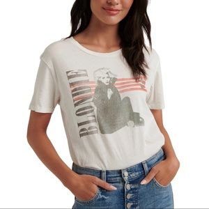 JUNK FOOD for LUCKY BRAND Blondie Graphic Tee Sz L